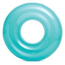 zwemband Transparant 76 cm blauw