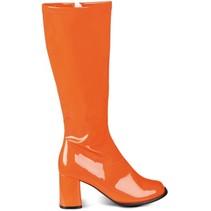 verkleedlaarzen Retro oranje dames