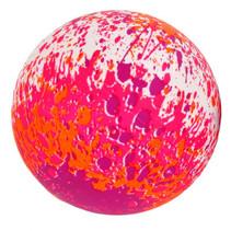 splashbal Gametime junior 23 cm foam roze/paars/wit
