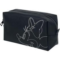make-up tas Minnie Mouse 18 x 10 cm zwart