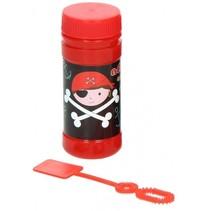bellenblaas Piraat 50 ml zwart/rood