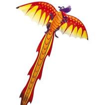 eenlijnsvlieger 3D-Dragon 102 x 320 cm oranje/rood