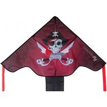 Staartvlieger Piraat 102 x 202 cm zwart