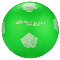 Voetbal PVC 21 cm Groen Per Stuk
