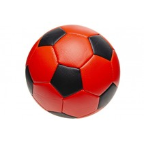 voetbal junior 22 cm rood