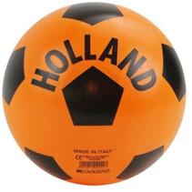 bal Holland junior 21 cm oranje/zwart