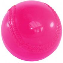 bal Rounders 19 cm kunststof roze
