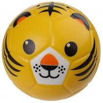 speelbal tijgergezicht 15 cm oranje