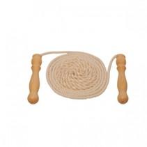 springtouw 2,5 m blank touw/hout