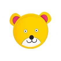 frisbee 21,5 cm beer geel