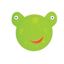 frisbee 21,5 cm kikker groen