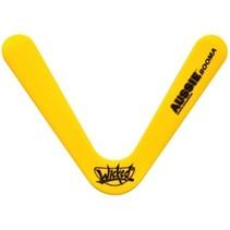 boomerang Booma Aussie 41 gram geel 27 cm