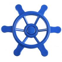 piratenstuurwiel voor speelhuisje 21,5 cm blauw