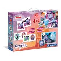 spellenset 4-in-1 Edukit Vampirina paars
