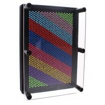 3d Pin Art regenboog 18 cm