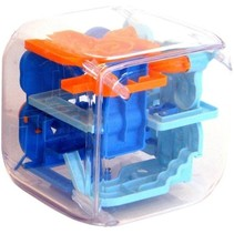 3D doolhof Amaze Cube 10,5 cm