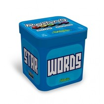 Rolling Cubes Star words 7 x 7 x 7 cm reisspel