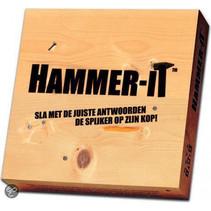 quizspel Hammer-It junior hout naturel 5-delig