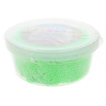 schuimklei neon 38 gram groen per potje