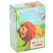 schuimklei junior leeuw 5-delig