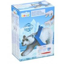 schuimklei junior ijsbeer 5-delig