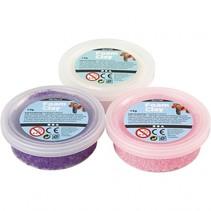 kleiset wit/paars/roze 14 gram 3-delig