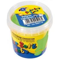Kinder Soft Knete Basic Klei 150 gram Licht Groen