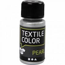 textielverf Pearl 50 ml zilver
