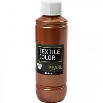 textielverf Pearl 250 ml koper
