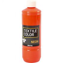 textielverf 500 ml neon oranje