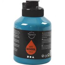 Acrylverf turquoise 500 ml