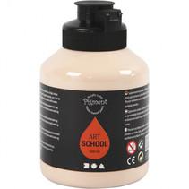 Acrylverf ivoor 500 ml