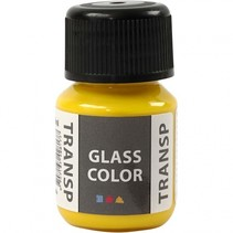 glas- & porseleinverf Glass Color 30 ml geel