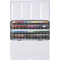 Art Aqua aquarelverfset 49-delig multicolor