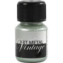 verf Art Metal 30ml parelmoer/groen