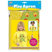 kinderschildersschort geel one size