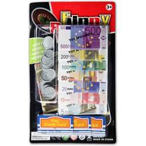 speelgoedgeld Euro junior papier 16-delig