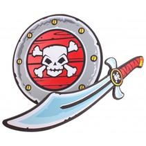 piratenset met zwaard en schild