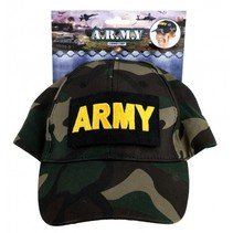 Army camouflage pet groen
