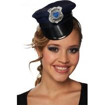 politiemuts haarband hottie police dames