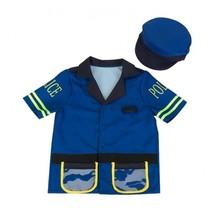 politiejas en pet junior blauw 3-6 jaar