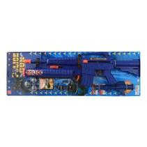 politiegeweer 10-delig blauw