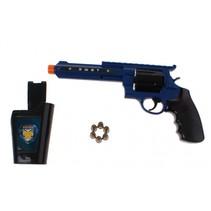 politiegeweer 3-delig blauw