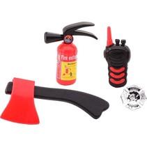 brandweerset zwart