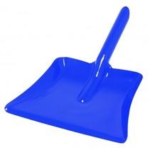 veegblik 20 cm blauw staal