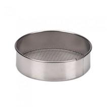 bakvorm zilver metaal 8 x 2 cm