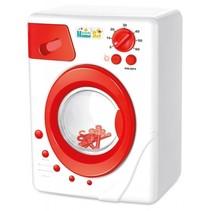 wasmachine met licht en geluid 20 cm rood