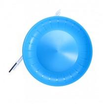 balanceerbord met stok 23,5 cm lichtblauw