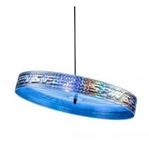 jongleerfrisbee Spin & Fly blauw 23 cm