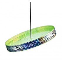 jongleerfrisbee Spin & Fly groen 23 cm
